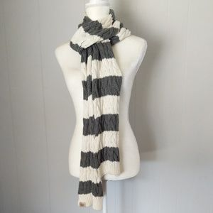UGG Australia Striped Knit Scarf OS